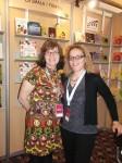 Avec mon éditrice, Dominique de Loppinot des Édtions de la Smala