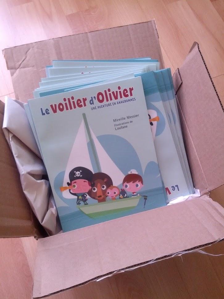 Le voilier d'Olivier arrivé à bon port!